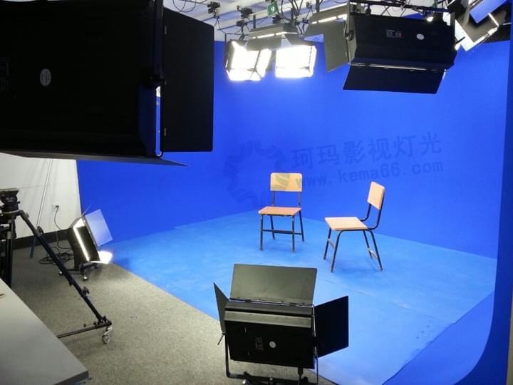 吉林长春东北师范大学虚拟演播室