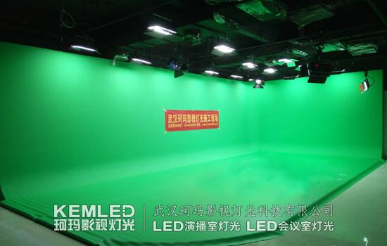 天津机电职业技术学院多功能演播室灯光案例图