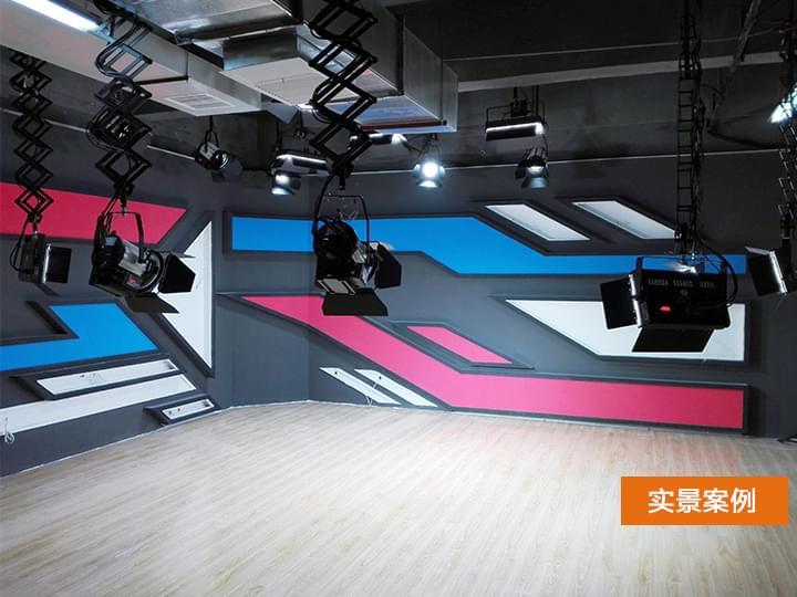 武汉山石云天演播室灯光工程案例