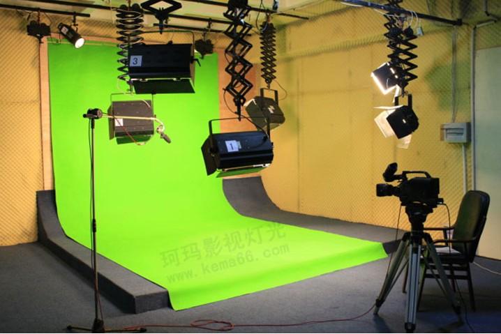 虚拟演播室灯光效果图