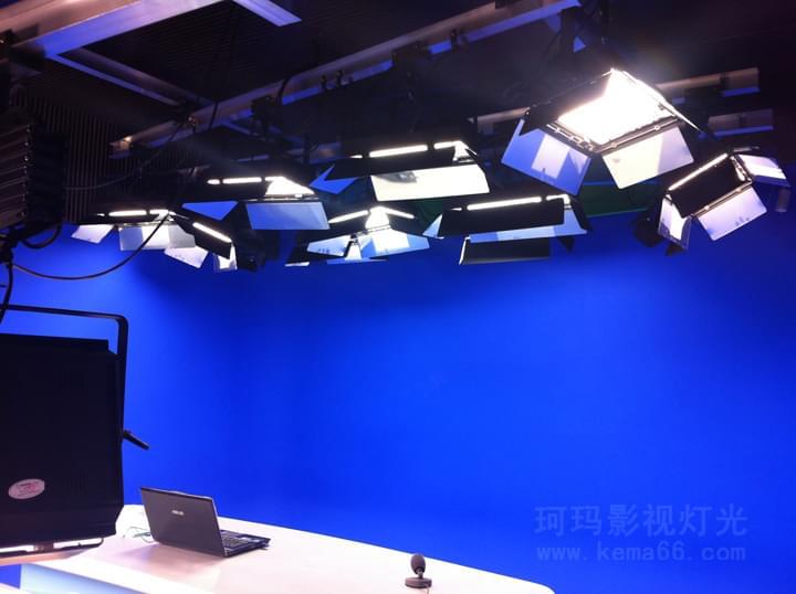 渝林国家电网虚拟演播室灯光工程图