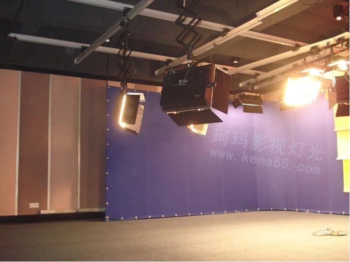 洛阳部队虚拟演播室灯光效果效果图二