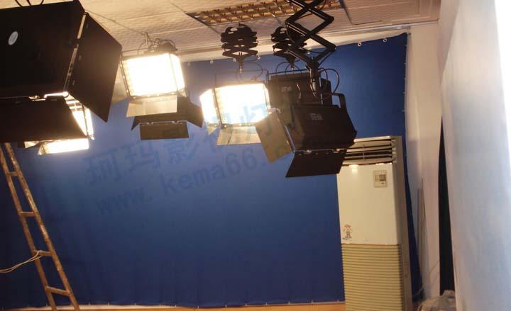 常德市第六中学37平方米演播室灯光工程
