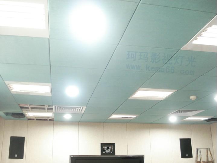 湖北省委保密局视频会议室灯光效果图三