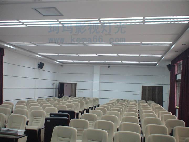 华中师范大学学术报告厅会议室灯光工程二