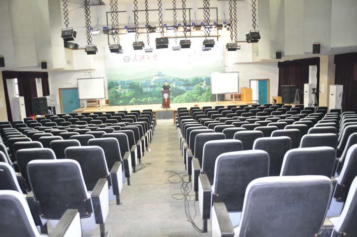 武汉大学会议室灯光工程图片