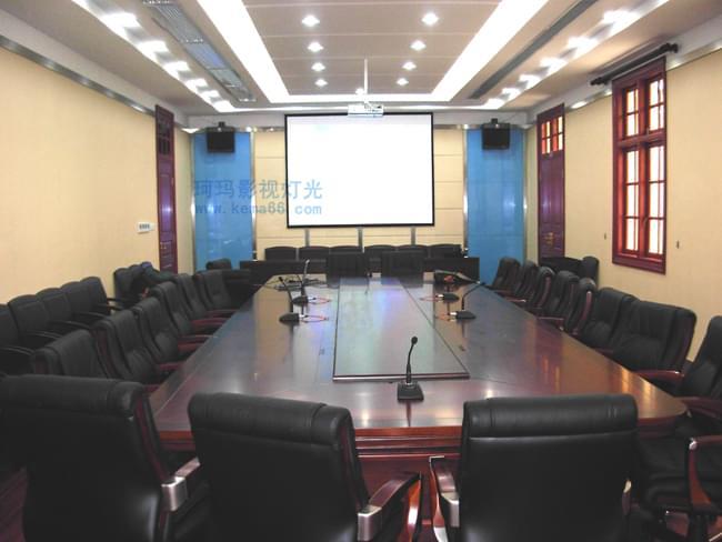 武汉市交通管理局视频会议室