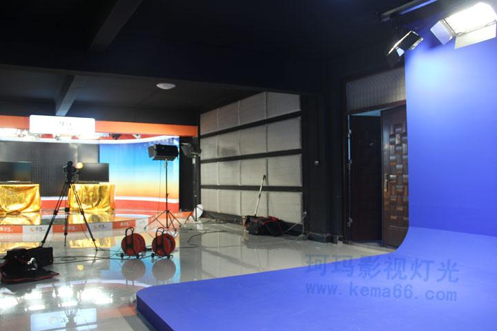 恩施电视台生活频道演播室灯光工程案例