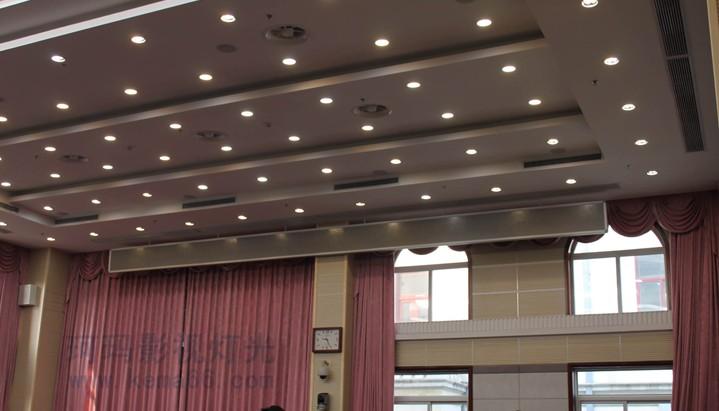 武汉市政府会议室灯光效果图二