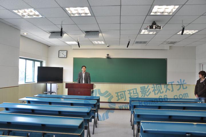 武汉大学录播教室