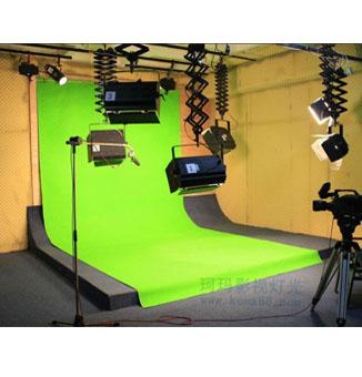 抠像幕布演播室灯光工程方案