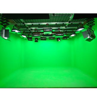 山东星感觉影视文化传媒虚拟演播室灯光工程