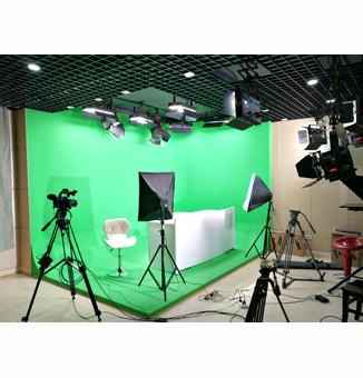 湖南长沙南雅中学校园虚拟演播室灯光工程
