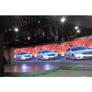 138㎡汽车企业LED演播室灯光设计方案