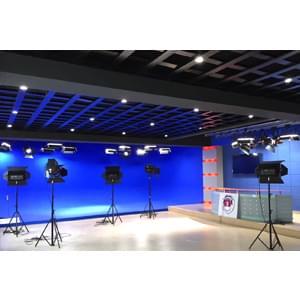 144㎡政府单位综合演播室灯光设计方案