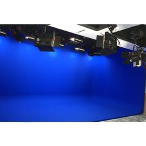 56㎡校园虚拟演播室灯光设计方案