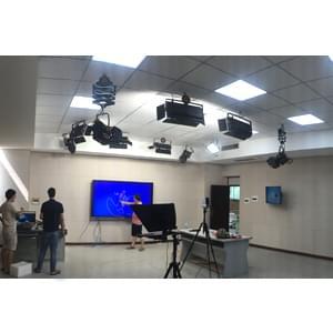 80㎡校园录播教室灯光设计方案