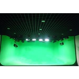 55㎡校园虚拟演播室灯光设计方案
