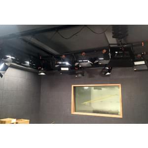 116㎡多景区监狱演播室灯光设计方案