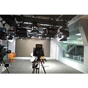 60㎡电视台演播室灯光设计方案