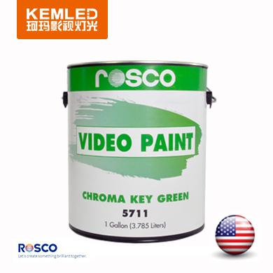 标清绿箱漆5711(美国原装进口ROSCO影视漆)/标准色抠像漆 正品