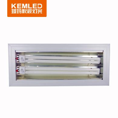 会议室三基色冷/柔光灯DSR 2×55W(长方形不可调角度)